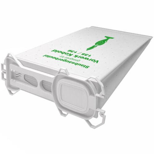 1-18 Sacchetto per Aspirapolvere Filtro Sacchetti Adatto per Vorwerk Folletto VK 135 136