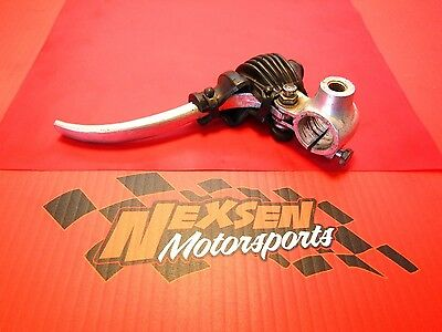1975 HONDA TL125 OEM CLUTCH LEVER, PERCH & BOOT
