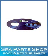 Balboa Spa Control Panel Duplex Mini Oval - Replacement Overlay Faceplate 11219