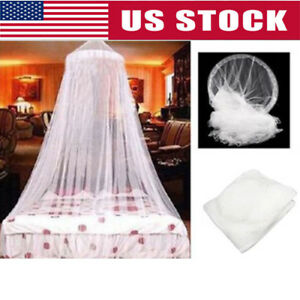 Dome-Lace-Mosquito-Net-Bed-Canopy-Netting-Double-King-Size-Fly-Insect-Protection