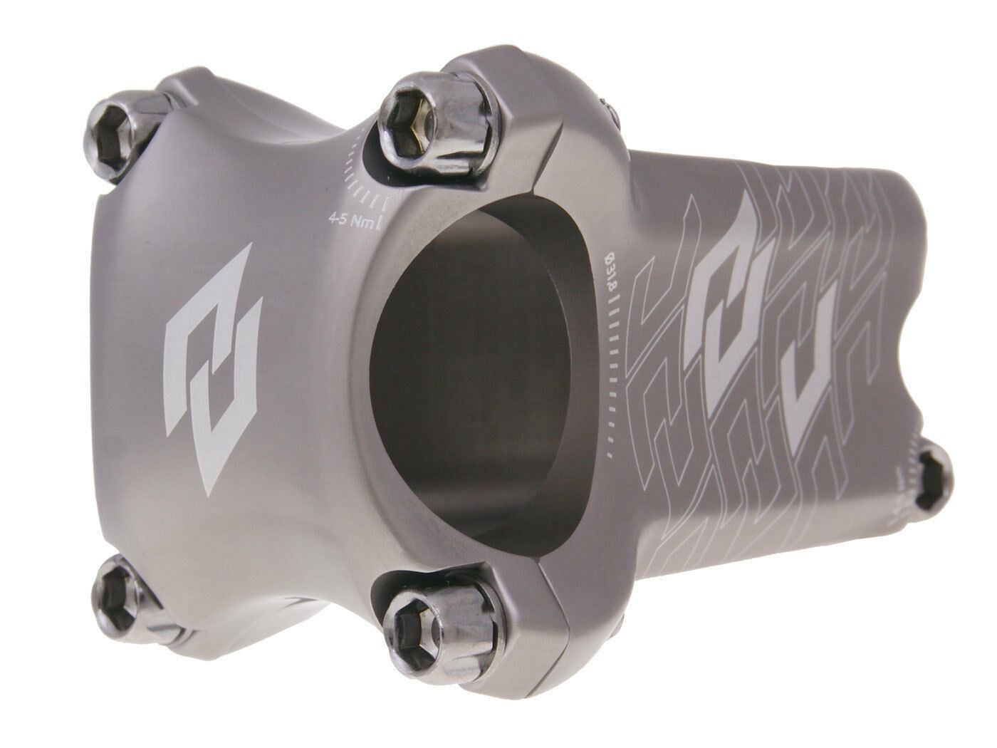 N 8 tive enduro voladizo grabación 31,8mm gris downhill MTB mountain bike manillar