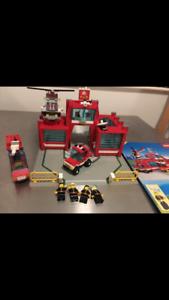 Lego Vintage 6389 Fire Control Centre (1990)