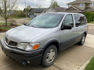 2002 Pontiac Montana - One Owner - Well Maintained
