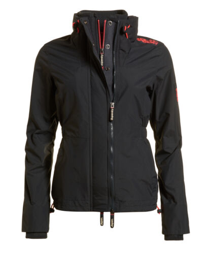 Charcoal Technical Womens wind Superdry Dark Jacket Attacker Sd New q8dvw8