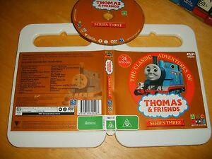 THOMAS-amp-FRIENDS-SERIES-THREE-26-EPISODES-2006-ABC-for-Kids-Dvd-Issue-Region-4