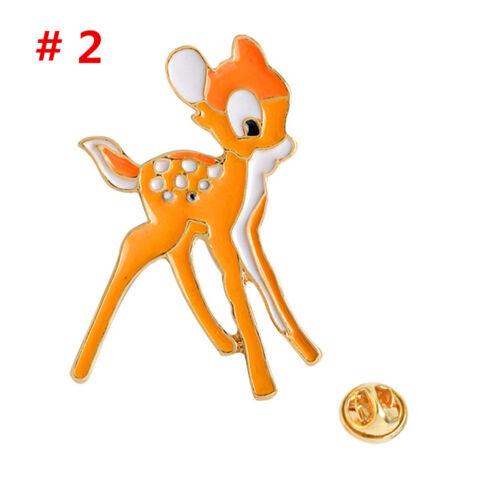 Broche Licorne Coloré Collier Mignon Broche Badge Corsage Broche Unicorn Deer