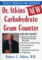 Dr. Atkins` Carbohydrate Gram Counter By M.d., Robert C. Atkins, (paperback)