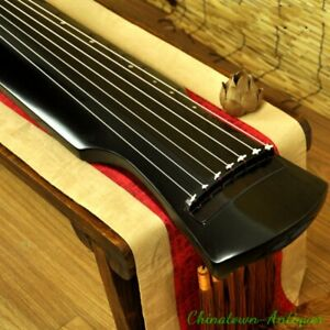 New-48-034-Professional-Guqin-Chinese-7-stringed-zither-instrument-Fuxi-Style-1534