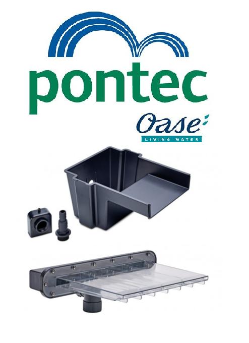 Oase Pontec PondoFall Garden Pond Waterfall Blade Standard or LED Spillway Box