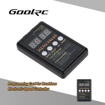 GoolRC Programming Card for Brushless Electronic Speed Controller Q9T9