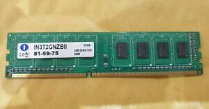 2-RAM-Go-INTEGRAL-IN-3-T-2-GNZBII-memoire-DDR3-PC3-1333MHz-DIMM-Ordinateur-de-bureau-PC