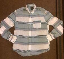 Hawkings McGill Long Sleeve Striped Shirt Medium urban outfitters Zara H M