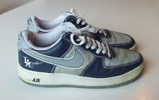 2004 NIKE AF1 LA NAVY BLUE SILVER WHITE GREY MR. CARTOON LASER SZ 10 VG Cond