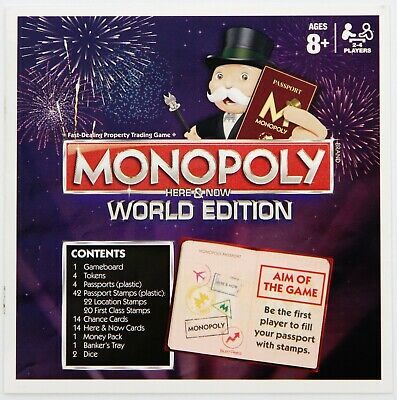 2015 Monopoly Here /& Now World Edition Hasbro Spare Parts