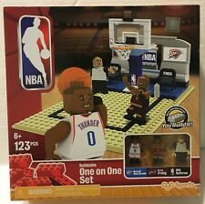 NBA Westbrook Kyrie Irving Lego brique One on One Set 123 pcs Oyo Sport