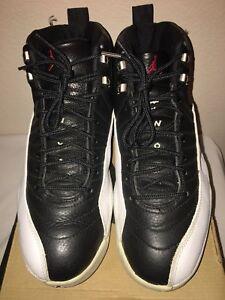7b4cf7024f4a 1997 OG Air Jordan XII 12 (Playoff) Black Varsity Red-White-Met ...