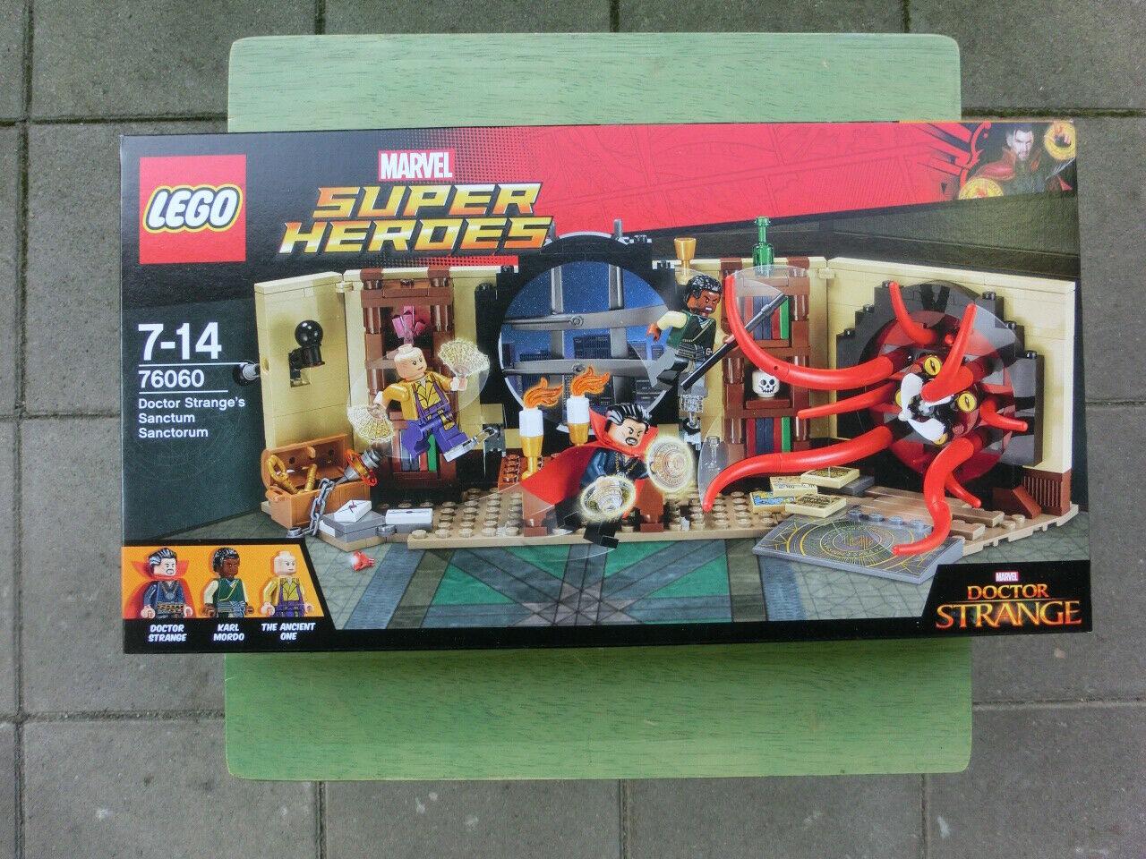 Lego Marvel súper Heroes 76060 Doctor Strange's Sanctum Sanctorum-nuevo en el embalaje original