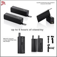 2x Small Lightweight Intelligent Li-Po Battery Pack 980mAh For DJI Osmo+\Mobile