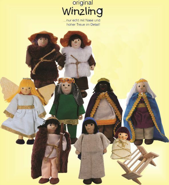 ORIGINALE piccola in flessione  bambole uomogiatoia 10 pezzi  Qualità Top  309-21  si affrettò a vedere