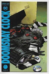 Doomsday Clock 2 Rorschach Mime Marionette Watchmen Hbo