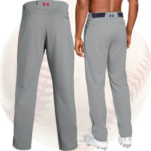 Under Armour Utility Relaxed Piped Mens Baseball Pants w//Braid Piping 1317259