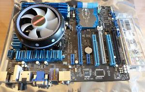 ASUS P8Z77-V + i7-3770 + 16 GB Hynix HMT351U6CFR8C-PB + Kühler beleuchtet
