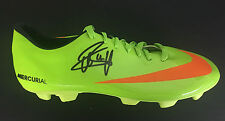 EDGAR DAVIDS SIGNED HOLLAND JUVENTUS FOOTBALL BOOT+PHOTO PROOF*SEE HIM SIGN*