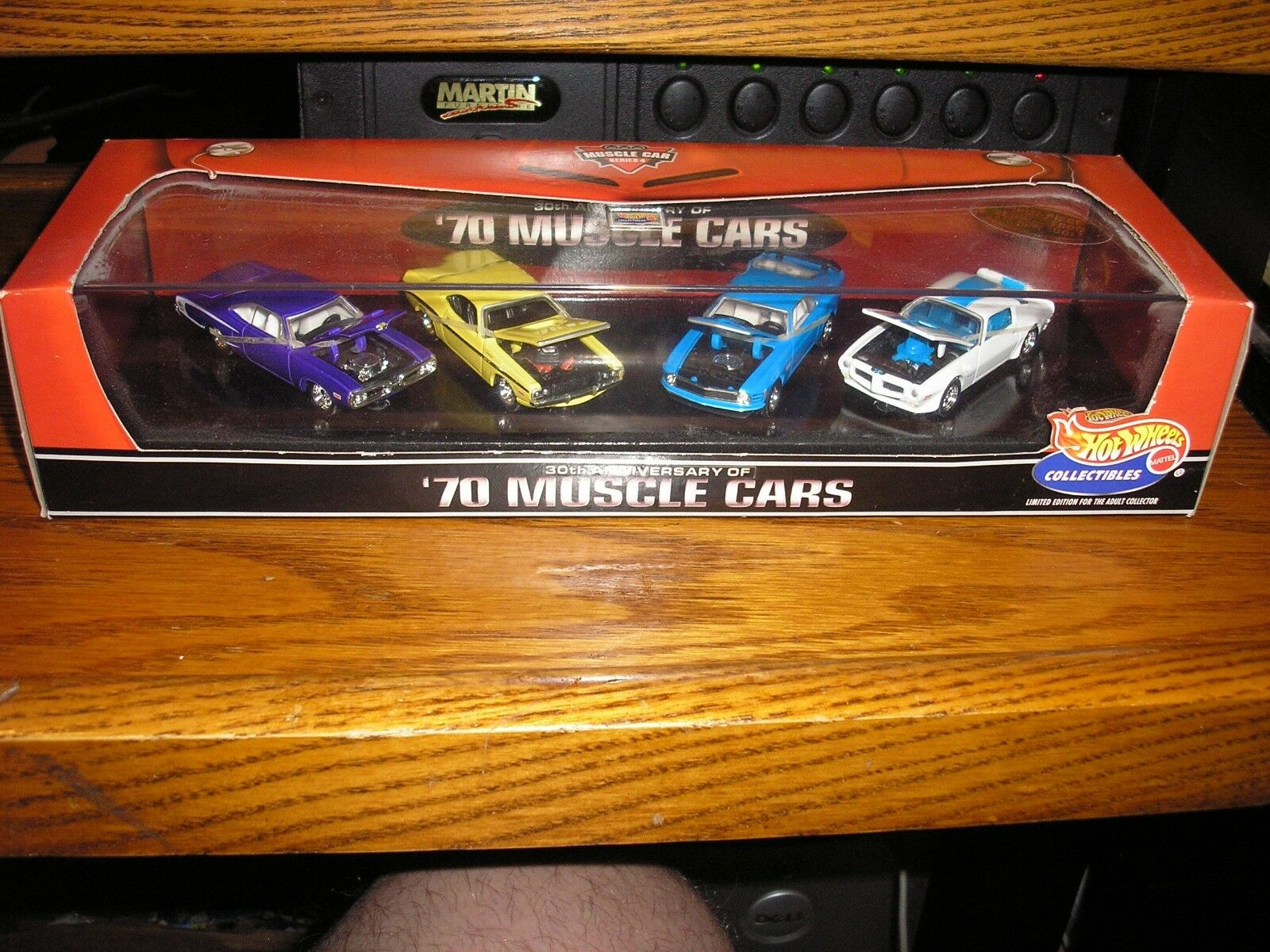 RARE Vintage Hot Wheels Muscle Car Series '70 Muscle Cars with case Free Ship