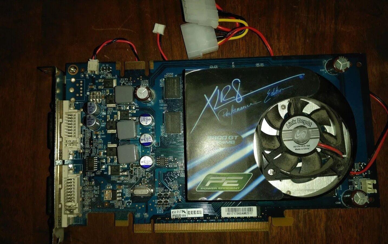 PNY Technologies NVIDIA GeForce 9800 GT VCG 98 GTEE 1XPB Express 2.0 x16 HDCP