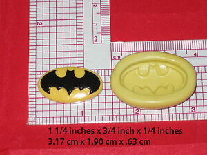 Image Is Loading Bat Man Logo Superheroes Silicone Mold 35 For