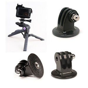 High-Quality-Tripod-Monopod-Mount-Adapter-For-GoPro-HD-HERO-1-2-3-4-Camera-Black
