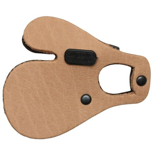 BEARPAW Archery Leather Tab with Separator, RH MEDIUM