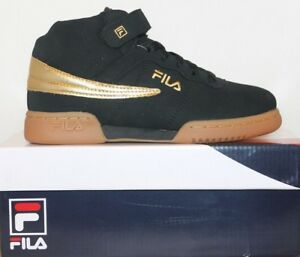 57326ddb551f Boys Girls Kids Fila F13 Mid High Top Casual Retro Basketball Shoes ...