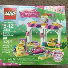 lego 41140 Disney Pincess Daisy beauty salon scissors brush mirror lipstick bowl