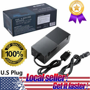 USA-For-Microsoft-XBOX-ONE-Console-AC-Adapter-Charger-Power-Supply-Cord-Cable