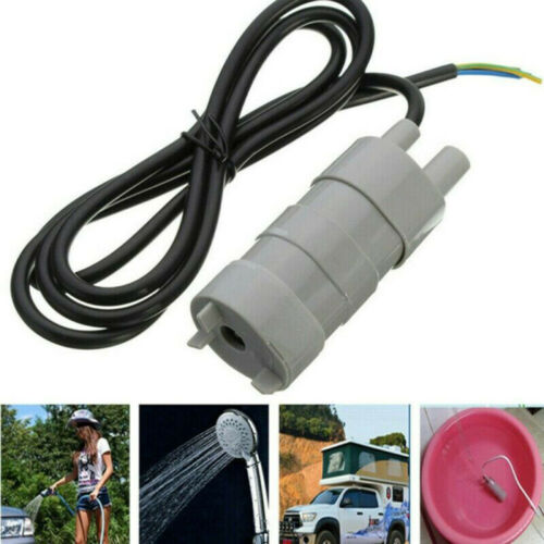 DC 12V Submersible Water Pump 1000L//H 5M High Flow Pumps For Motorhome Pond