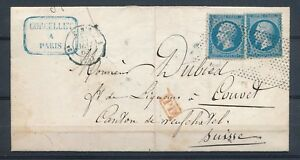1863-Lettre-40c-2N-22-obl-roulette-de-points-PD-Rge-PARIS-60-P2676