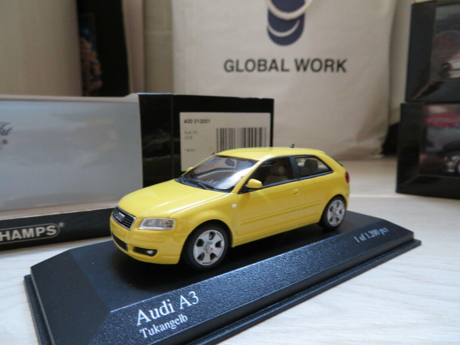 entrega de rayos 1 43 Minichamps AUDI A3 de 3 3 3 puertas Diecast  estar en gran demanda