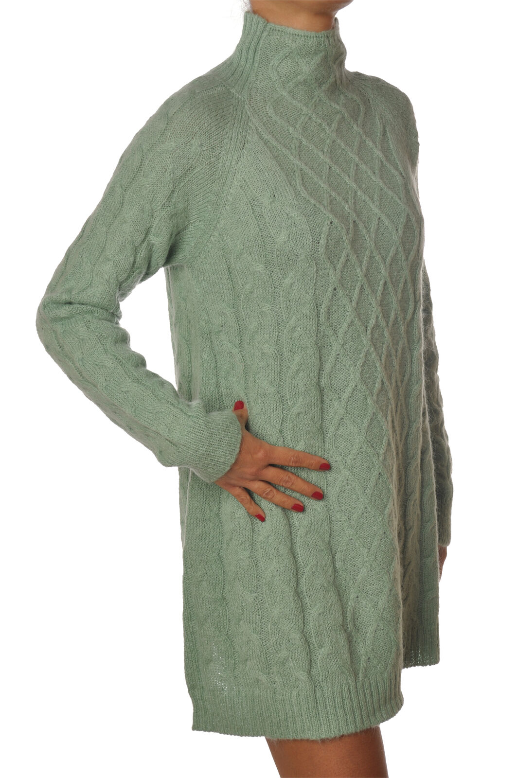 Ottod'ame - Abiti-Abito - women - green - 5669429N184341