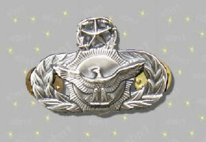 USAF-Security-Police-Master-Qualification-mint-cond-obsolete-military-surplus