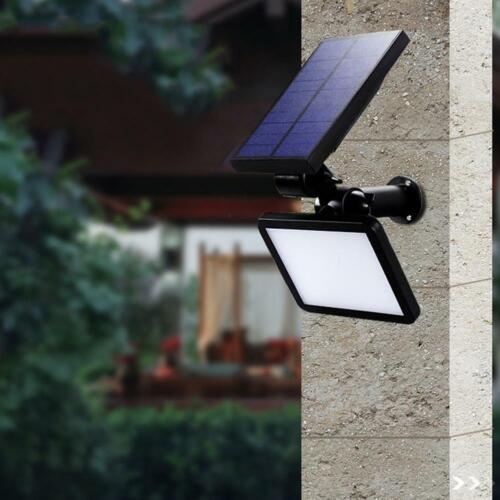 48 LED Waterproof Solar Ground Buried Green Light Garden Yard Wall Drcor Lamp