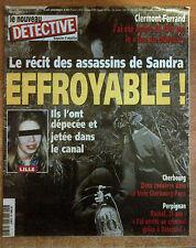 nouveau DETECTIVE n°862 du 24 mars 1999 clermont ferrand sandra lille