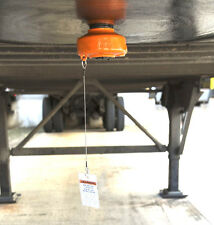 """2"""" Heavy Duty Cast Steel King Pin Coupler Lock Trailer 5th Wheel RV Camper"""