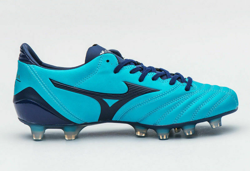 P1GA185814 Morelia Neo KL MD Men Soccer Cleats shoes Sneakers bluee