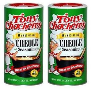 Lot-of-2-Tony-Chachere-039-s-ORIGINAL-CREOLE-SEASONING-17-oz-Total-34-oz-No-MSG
