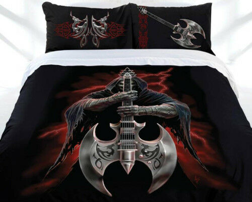 Anne Stokes Gothic Rock God Fantasy King Size Quilt Doona Cover Set