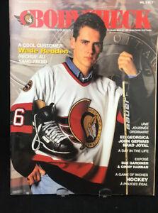 Vintage-Ottawa-Senators-Bodycheck-Magazine-Wade-Redden-1996-Vol-5-3