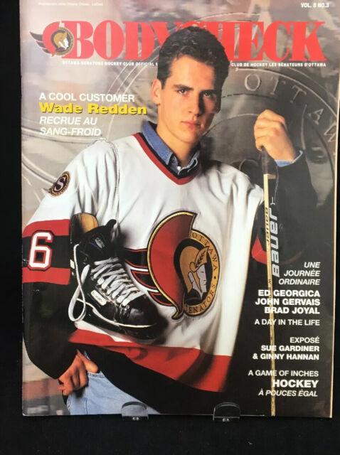 Vintage Ottawa Senators Bodycheck Magazine Wade Redden 1996 Vol 5 # 3