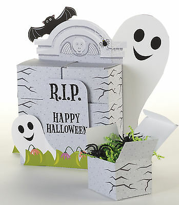 Halloween Favour Box centrepiece Ghost Tombstones party decorations & favor box