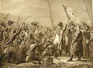 Jp M Jazet D'ap Steuben Napoléon Ier Bonaparte Empeireur Retour De L'ile D'elbe Nous Avons Gagné Les éLoges Des Clients
